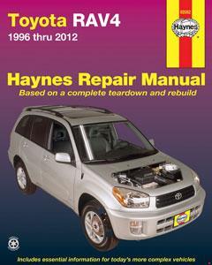 toyota rav4 (96-12) workshop manual