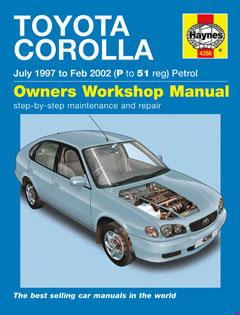 Toyota Corolla Petrol (July 97 - Feb 02) Haynes Repair Manual