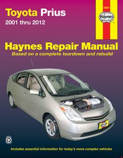 toyota prius (01-12) haynes repair manual · fuse box diagram »