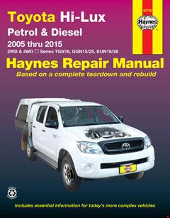 Toyota Hilux 4x4 Automotive Repair Manual 2005-2015