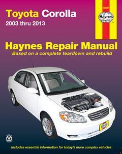 toyota corolla 2003 thru 2013 (haynes repair manual) · fuse box