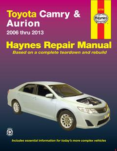 Toyota Camry & Toyota Aurion (06-13) Haynes Repair Manual