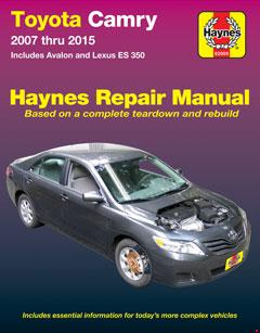 toyota camry & avalon & lexus es 350 (07-15) haynes repair manual · fuse  box diagram »