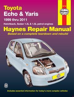Toyota Echo & Yaris (99-11) Haynes Repair Manual