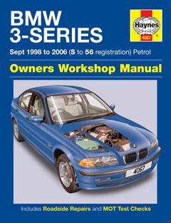 bmw 3-series petrol (sept 98 - 06) haynes repair manual � fuse box