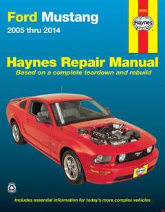 ford mustang (05-14) haynes repair manual � fuse box