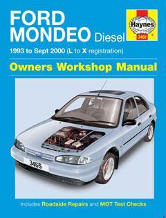 ford mondeo diesel (93 - sept 00) haynes repair manual � fuse box diagram �