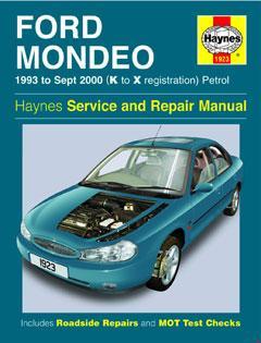 Ford Mondeo Petrol (93 - Sept 00) Haynes Repair Manual