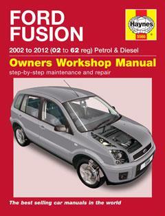 ford fusion petrol & diesel (02 – 12) haynes repair manual � fuse box  diagram �