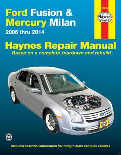 Ford Fusion & Mercury Milan (06-14) Haynes Repair Manual