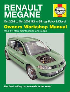 renault megane petrol & diesel (oct 02 - 08) haynes repair manual · fuse box