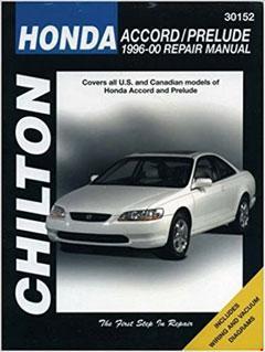 1997-2001 Honda Prelude Fuse Box Diagram
