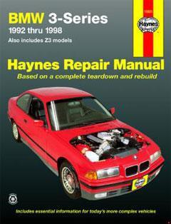 BMW 3 Series (92-98) & Z3 (96-98) Haynes Repair Manual