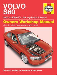 volvo s60 petrol & diesel (00 - 09) haynes repair manual � fuse box