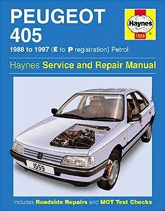 Peugeot 405 Petrol Service and Repair Manual: 1988-1997(E to P Registation) (Haynes Service and Repair Manuals)