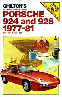 chilton's repair and tune-up guide: porsche 924 and 928, 1977-81 � fuse box  diagram �