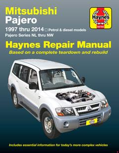 mitsubishi pajero (97-14) haynes repair manual � fuse box diagram �
