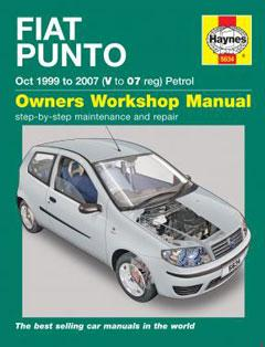 fiat punto petrol (oct 99 - 07) haynes repair manual � fuse box diagram �