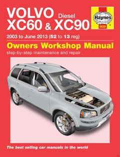 volvo xc60 & xc90 diesel (03 - 13) haynes repair manual