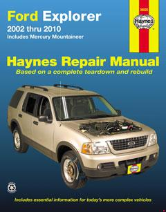ford explorer & mercury mountaineer (02-10) haynes repair manual · fuse box  diagram »