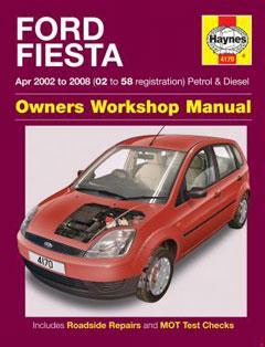ford fiesta petrol & diesel (apr 02 - 08) haynes repair manual � fuse box