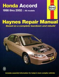 honda accord (98-02) haynes repair manual · fuse box diagram »
