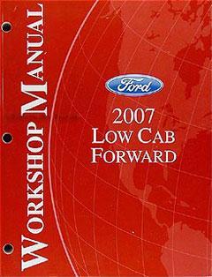 2006-2009 Ford LCF (Low Cab Forward) fuse diagram