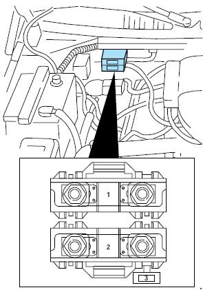 1997-1999 ford f-250 light duty fuse box diagram