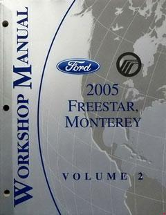 freestyle, 500, & montego repair shop manual original � fuse box diagram �  ford �