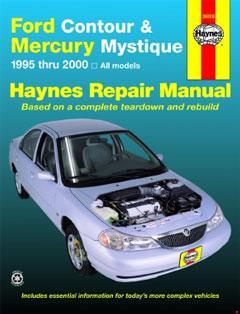 ford contour & mercury mystique (95-00) haynes repair manual · fuse box  diagram »