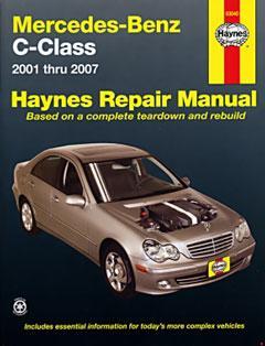 mercedes-benz c-class (01-07) haynes repair manual · fuse box diagram »