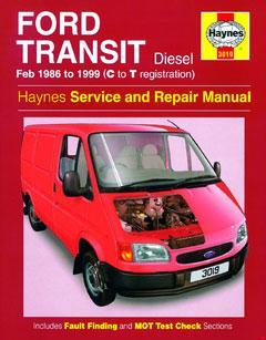 1995-2000 Ford Transit Fuse Box Diagram