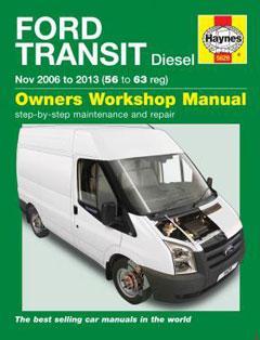 Ford Transit Diesel (06 - 13) Haynes Repair Manual