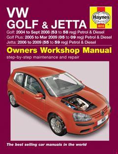 2003–2009 Volkswagen Golf Mk5 (1K) Fuse Box Diagram