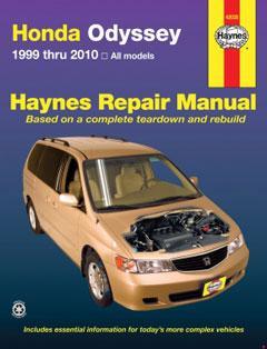 2003-2008 Honda Odyssey (RB1-RB2) Fuse Box Diagram