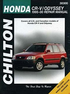 honda crv and odyssey, 1995-00 (chilton total car care series manuals) � fuse  box diagram �