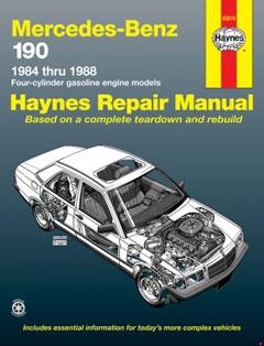 Mercedes-Benz 190 4-cylinder petrol (84-88) Haynes Repair Manual