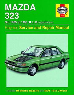 mazda 323 (oct 89 - 98) haynes repair manual · fuse box