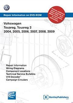 2005-2010 Volkswagen Touareg Fuse Box Diagram