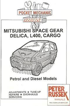 Mitsubishi Delica L400 / Space Gear / Cargo Fuse Box Diagram
