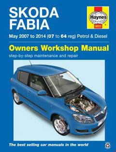 Skoda Fabia petrol & diesel (May 07-14) 07 to 14