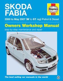 Skoda Fabia Petrol & Diesel (00 - 06) Haynes Repair Manual