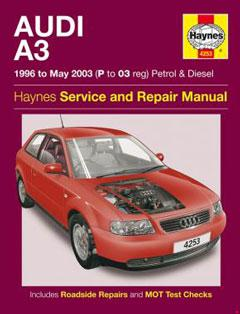 audi a3 petrol & diesel (96 - may 03) haynes repair manual � fuse box  diagram �