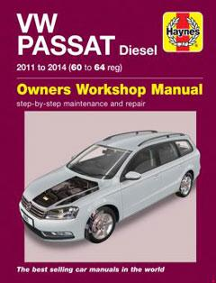 volkswagen passat diesel (11-14) 60 to 64 haynes repair manual � fuse box  diagram �