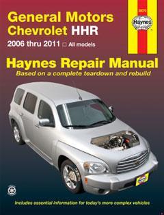 chevrolet hhr (06-11) haynes repair manual