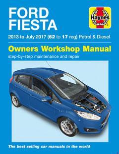 Ford Fiesta Petrol & Diesel (13 - 17) 13 to 17 Haynes Repair Manual