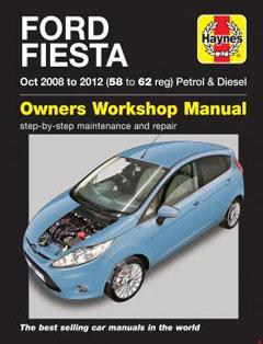 Ford Fiesta Petrol & Diesel (08 - 12) Haynes Repair Manual