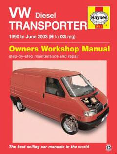 1990-1995 Volkswagen Transporter (T4) Fuse Box Diagram