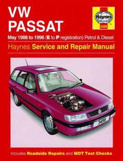 Volkswagen Passat B3 / B4 Fuse Box Diagram