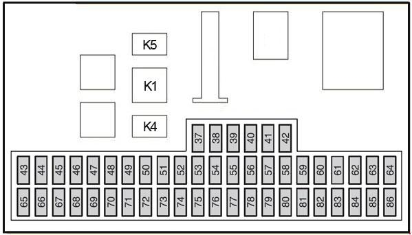 2004 u20132010 ford focus mk2 fuse box diagram  u00bb fuse diagram